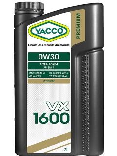 VX 1600 0W30